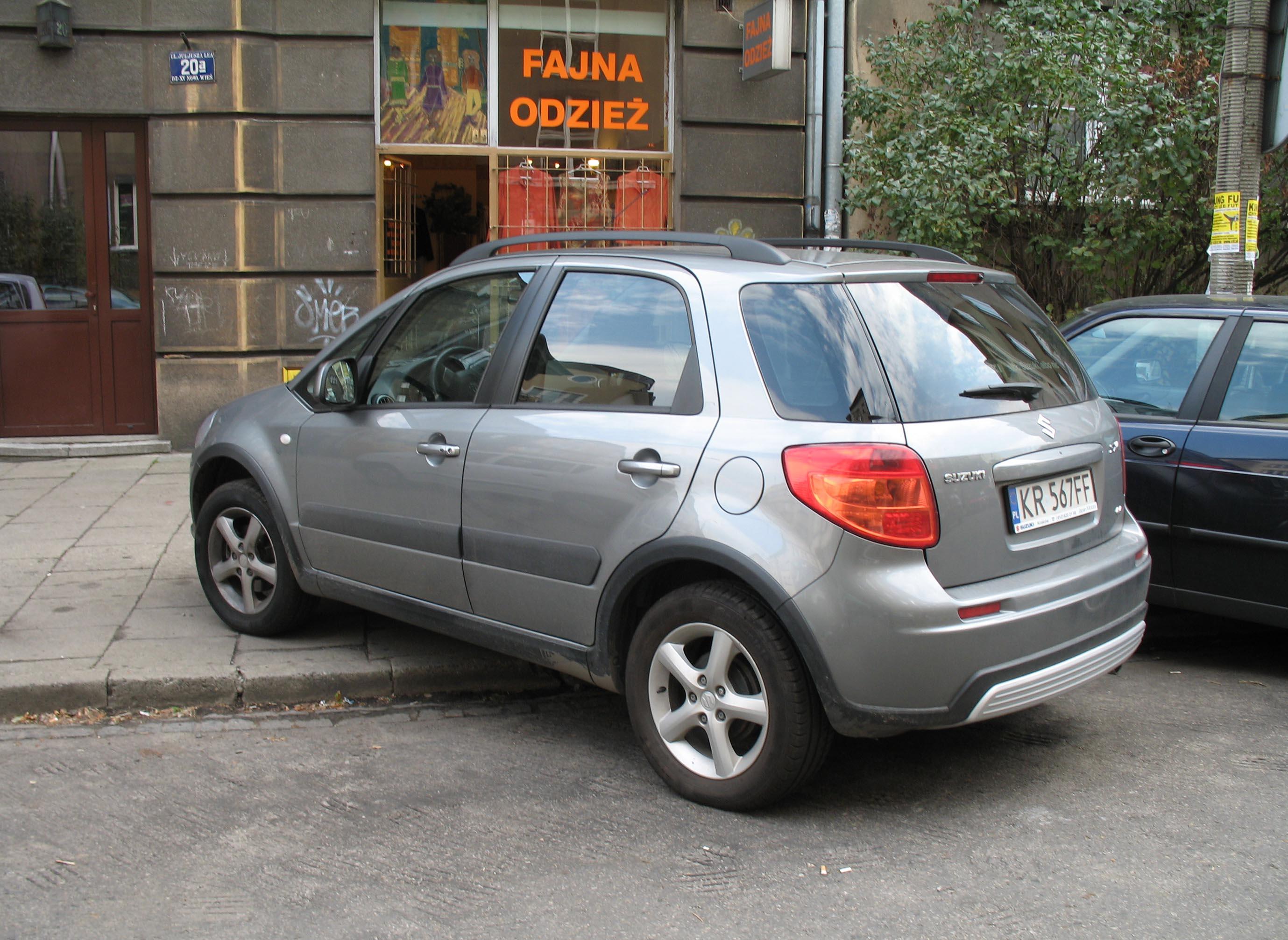 Suzuki Sx Awd Rear Bumper Cover Plastic