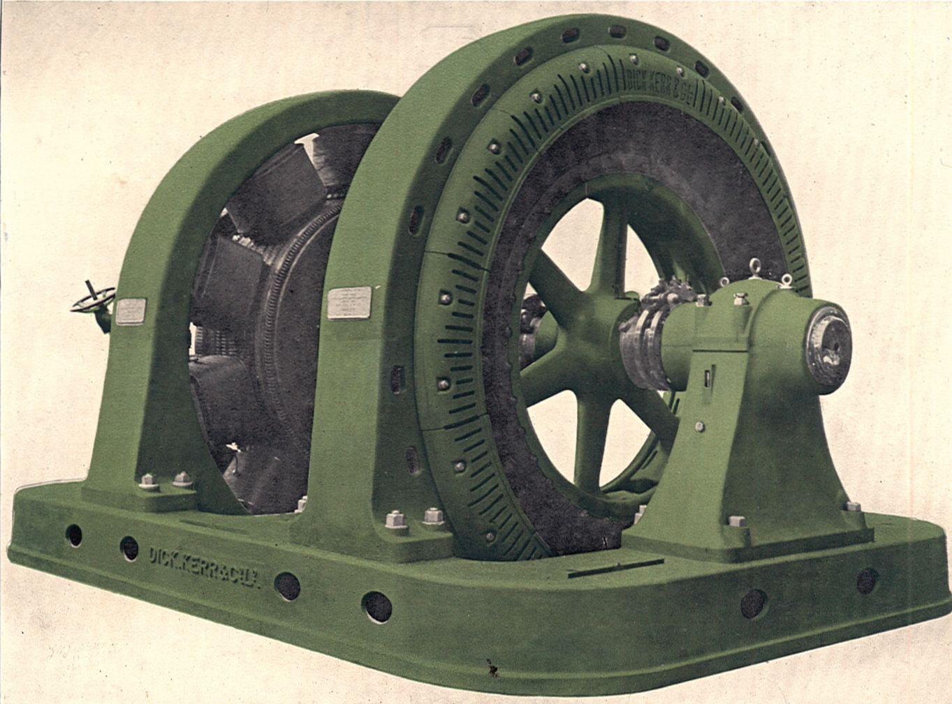 File synchronous motor generator set for ac to dc Electric ac motors