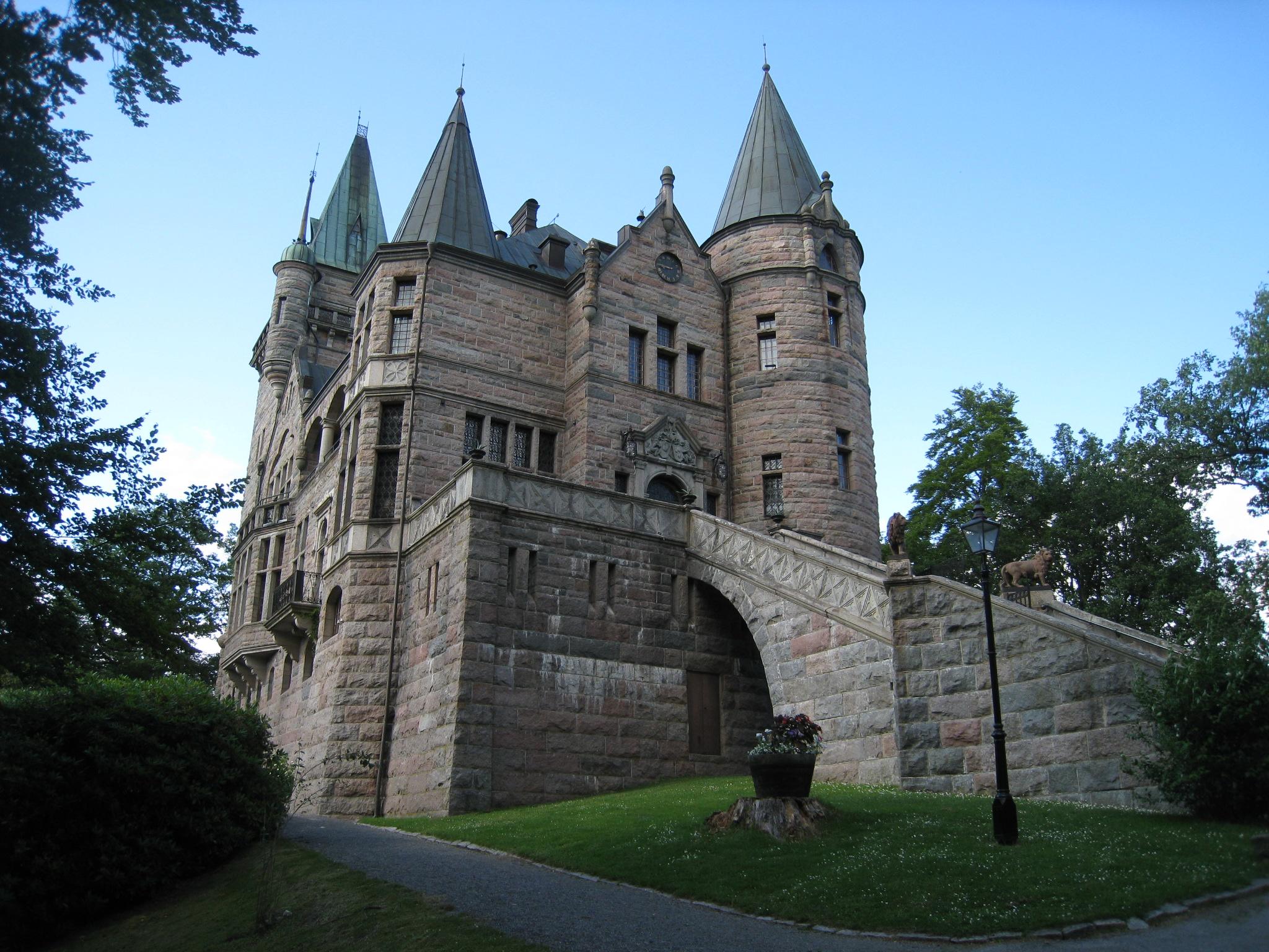 I det enkla bor det Vackra brllop Teleborg Slott, Vxj
