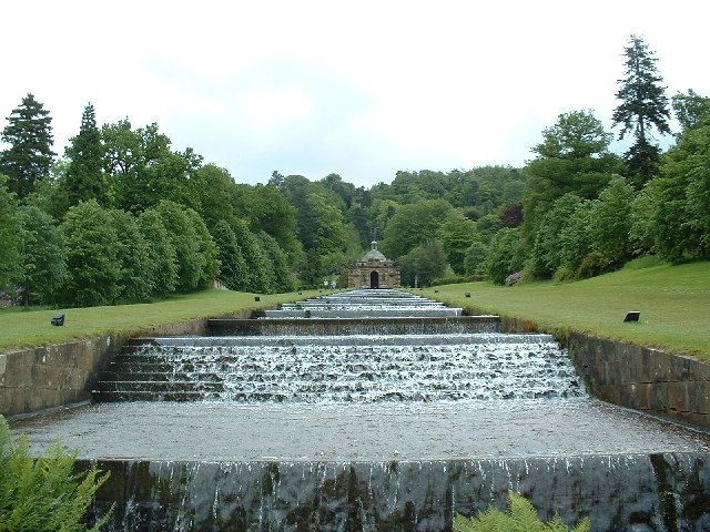 The Cascade, Chatsworth - geograph.org.uk - 26066