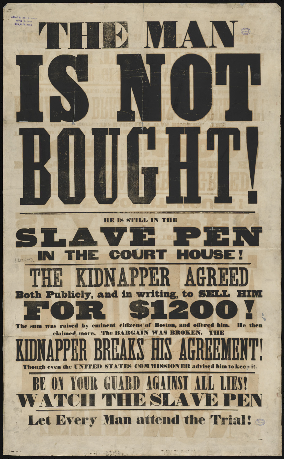 The history and genesis of the anti slavery movements in the south