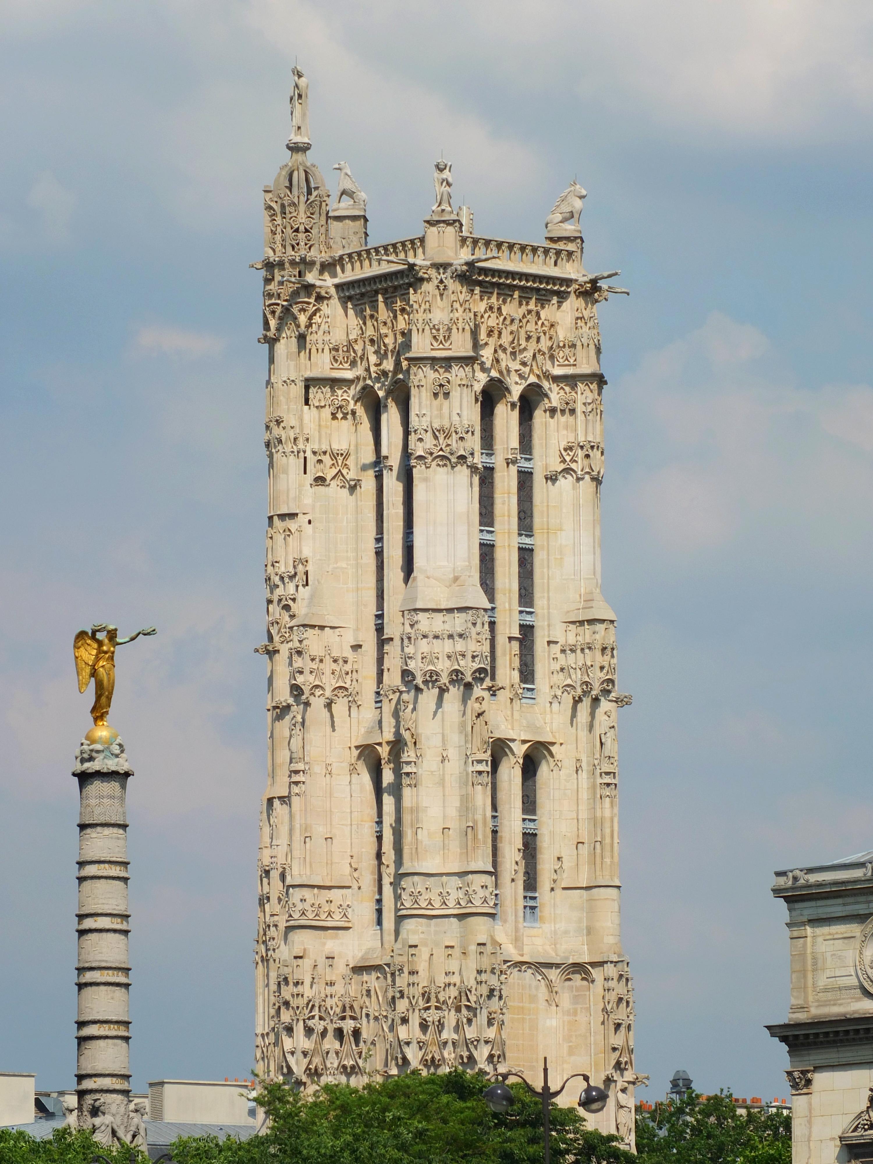 Paris autour de la tour site sorties pour tous montesson le v sinet chatou - Tour saint jacques visite ...