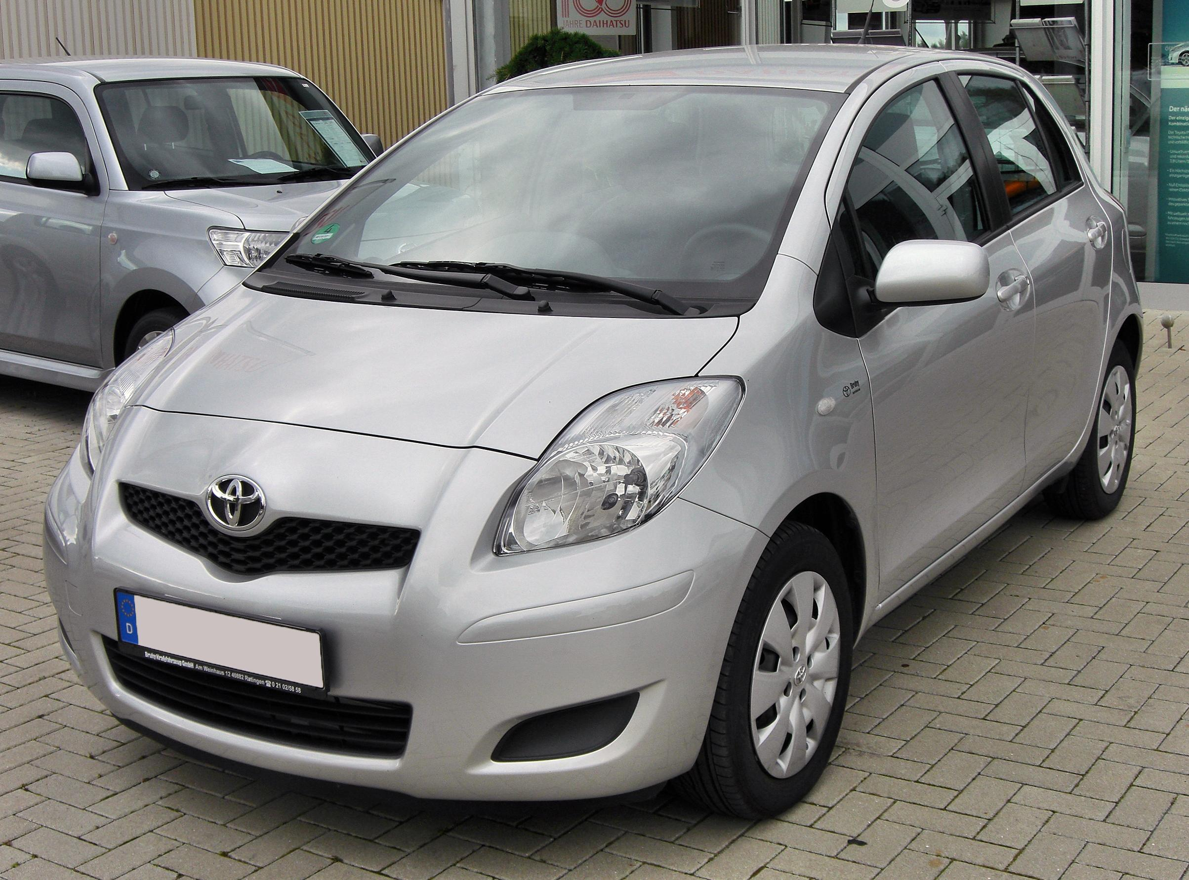 file toyota yaris ii facelift 20090912 front jpg. Black Bedroom Furniture Sets. Home Design Ideas