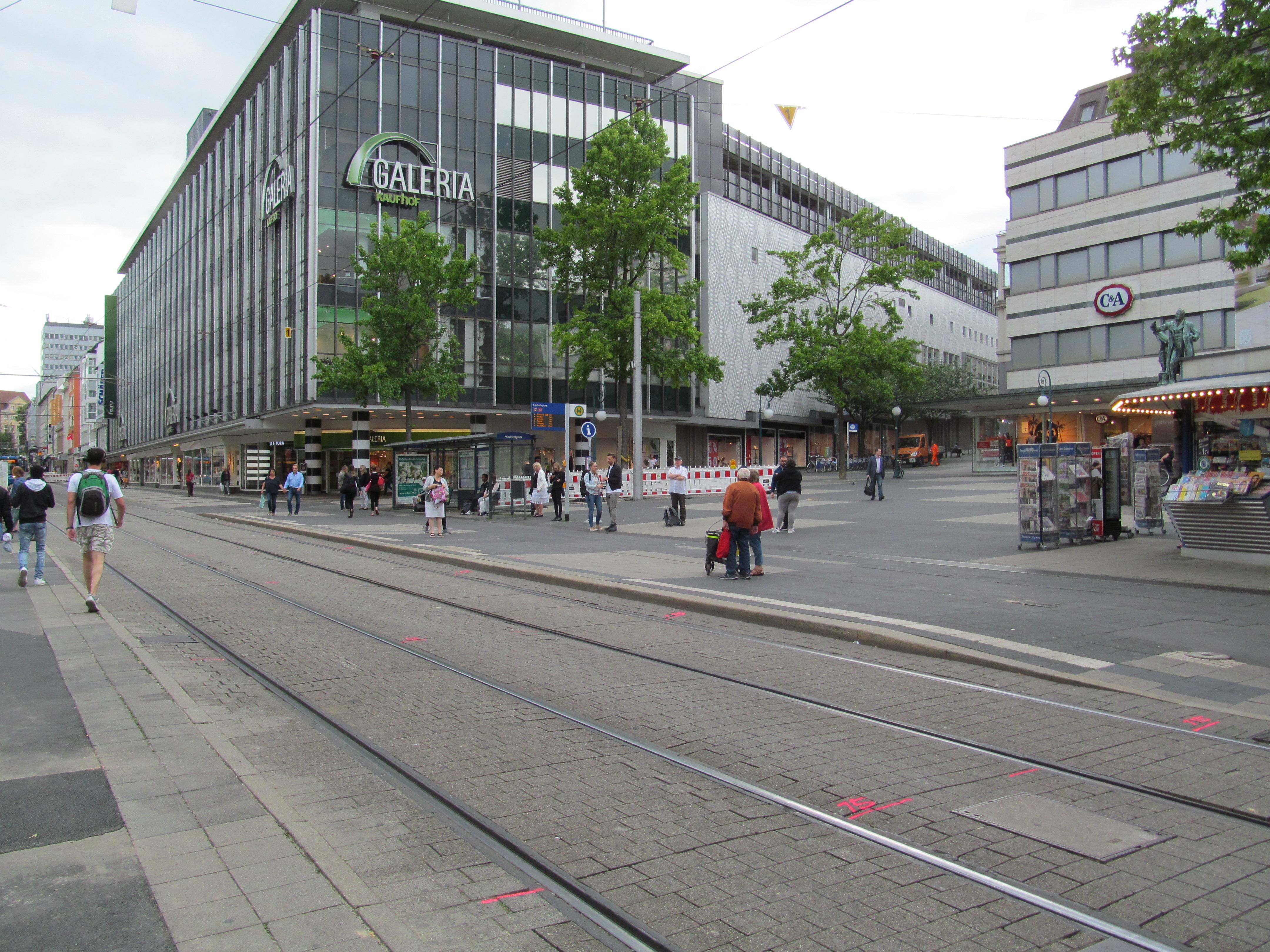 Tiefgarage Friedrichsplatz Kassel