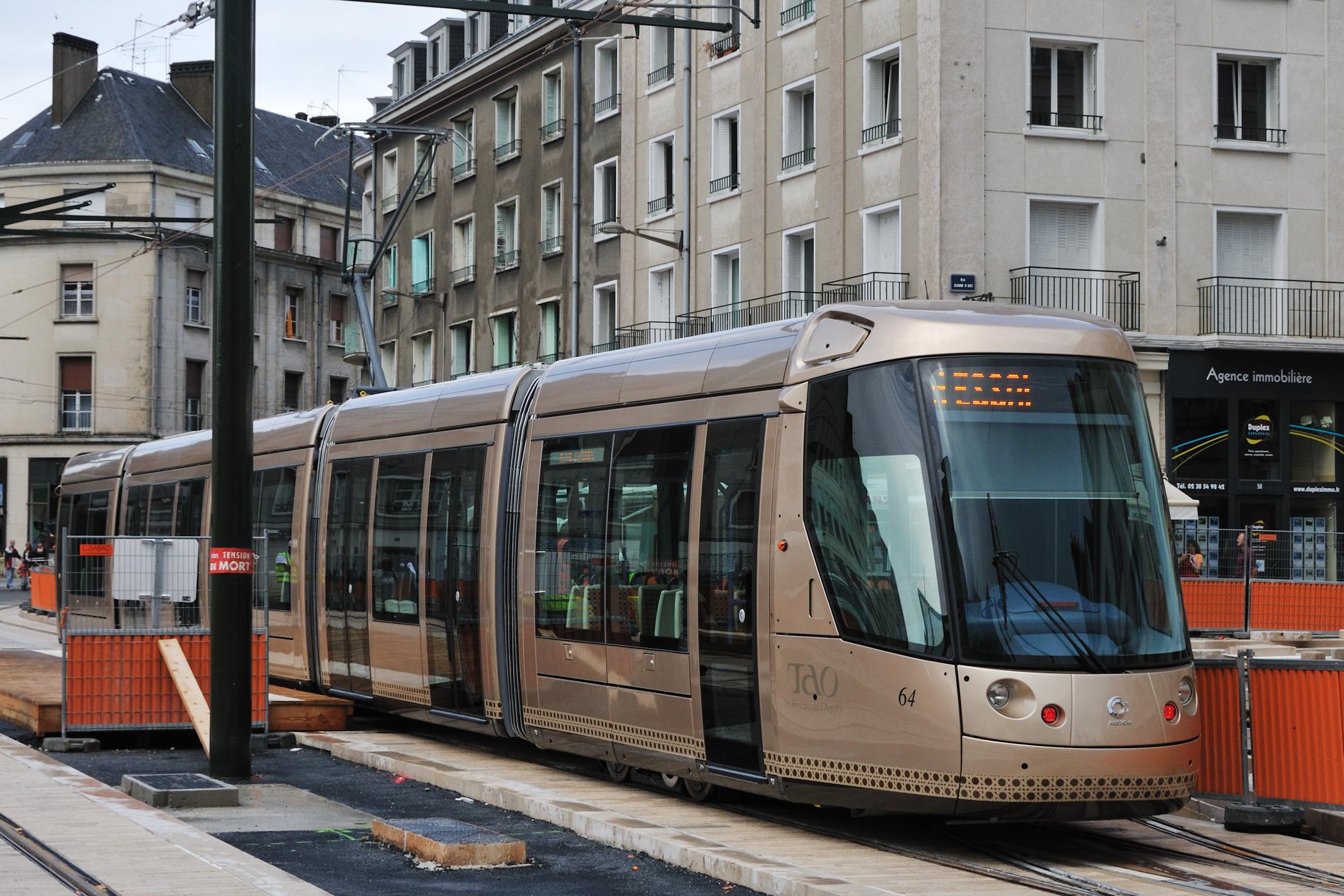 File tramway orleans essais citadis 302 wikimedia commons - Horaire tram orleans ligne a ...
