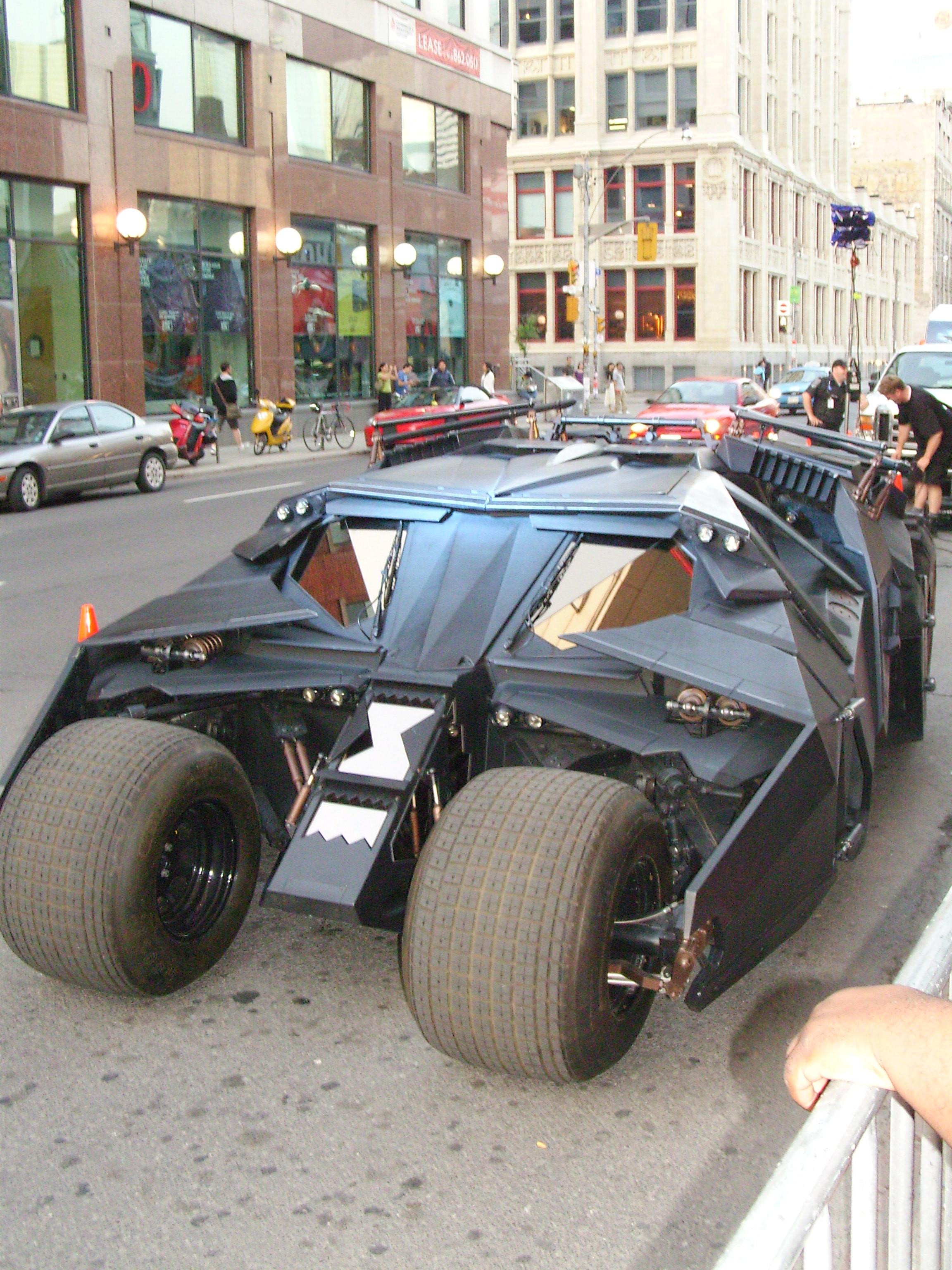 Batmans New Car