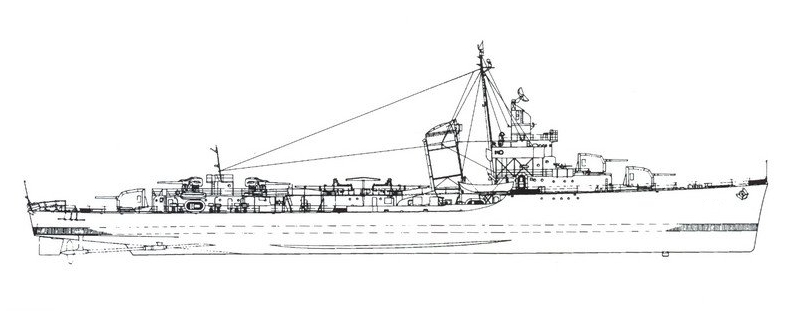 Workhorse Of The American Fleet Fletcher Class Destroyer
