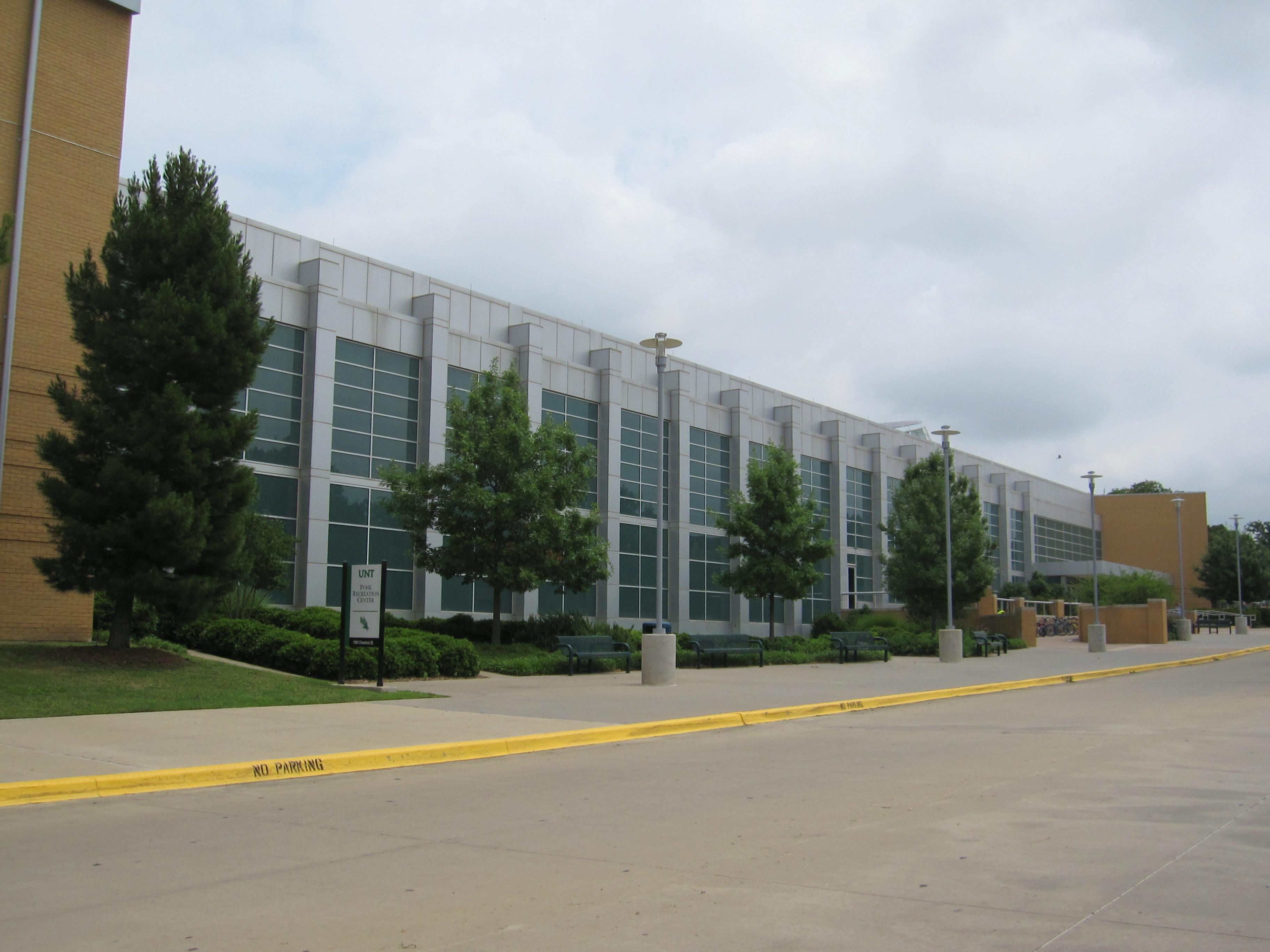 Description university of north texas - pohl rec center