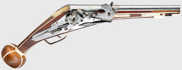 Common arms and armament of the New Age. Wheellock_pistol_or_'Puffer'