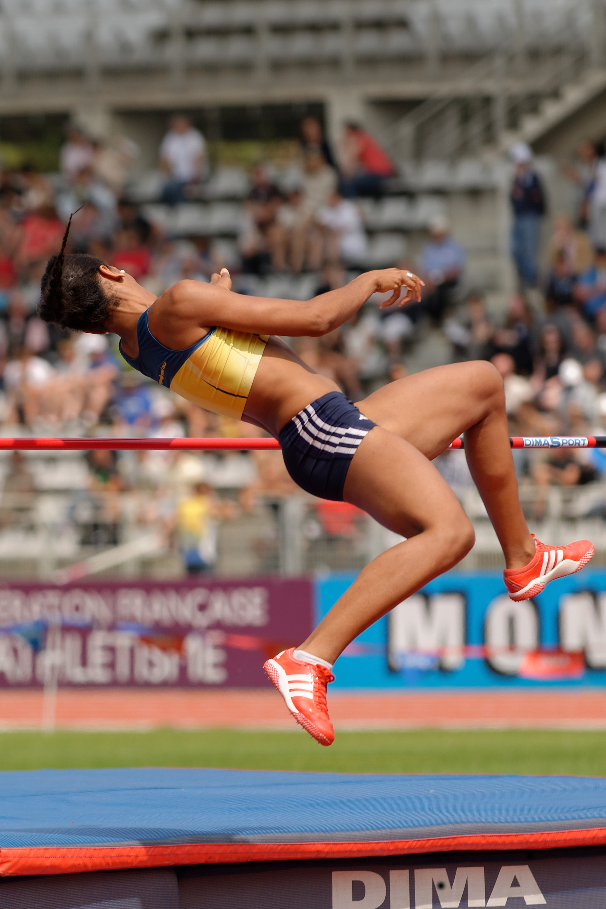 High Jump History File Women High Jump French