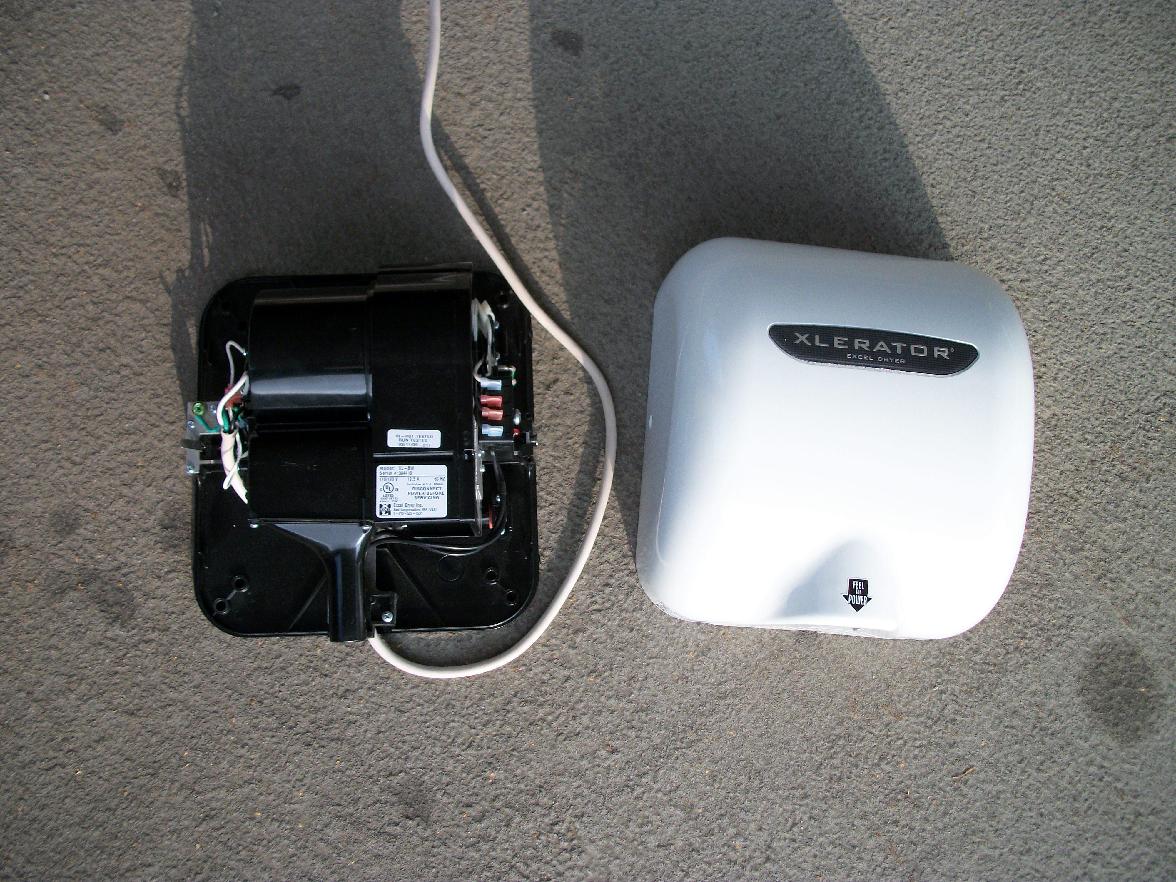 filexlerator hand dryer inside frontjpg