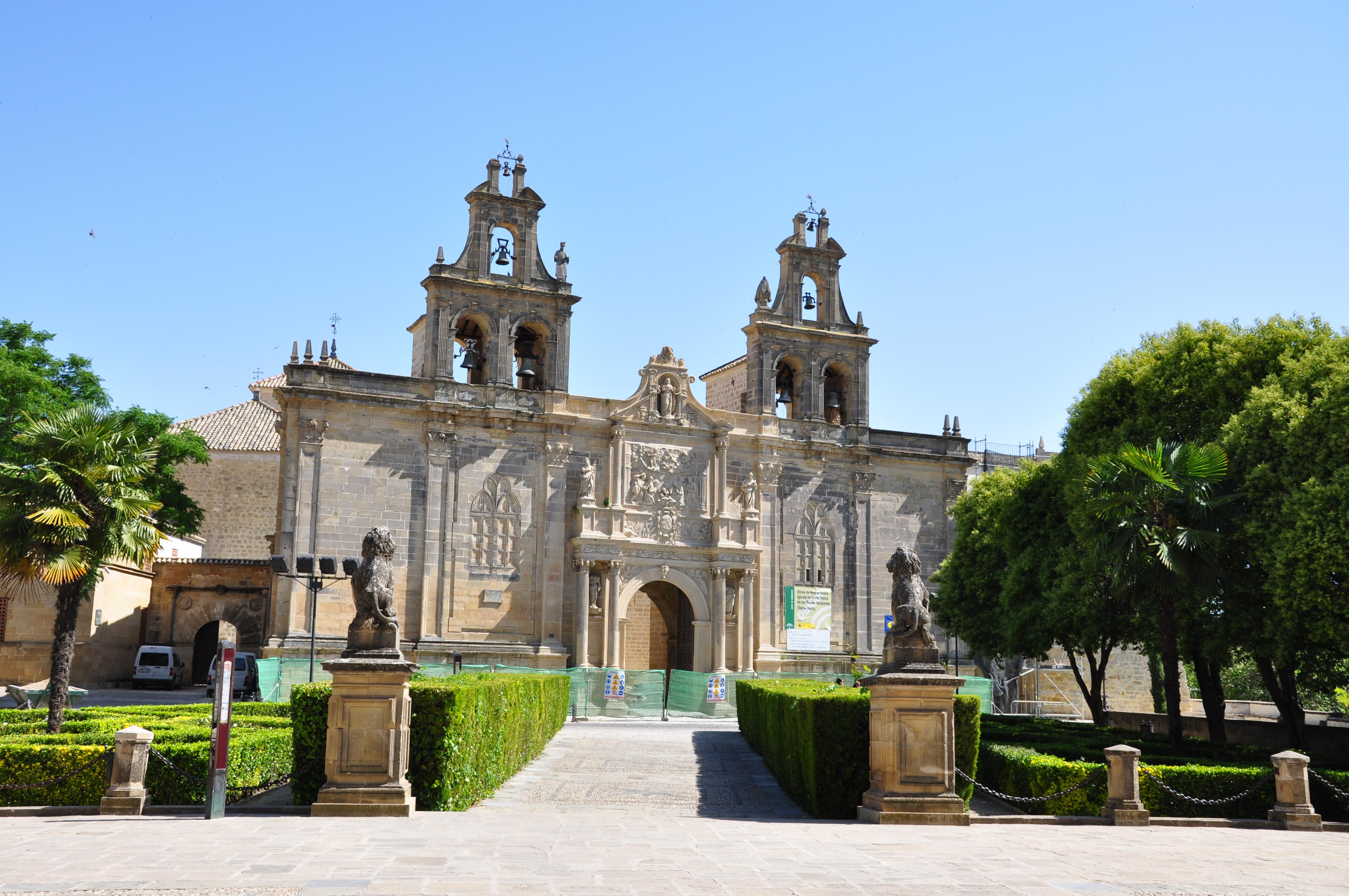 Ubeda Spain  city images : Description Úbeda Iglesia de Santa María de los Reales Alcázares ...