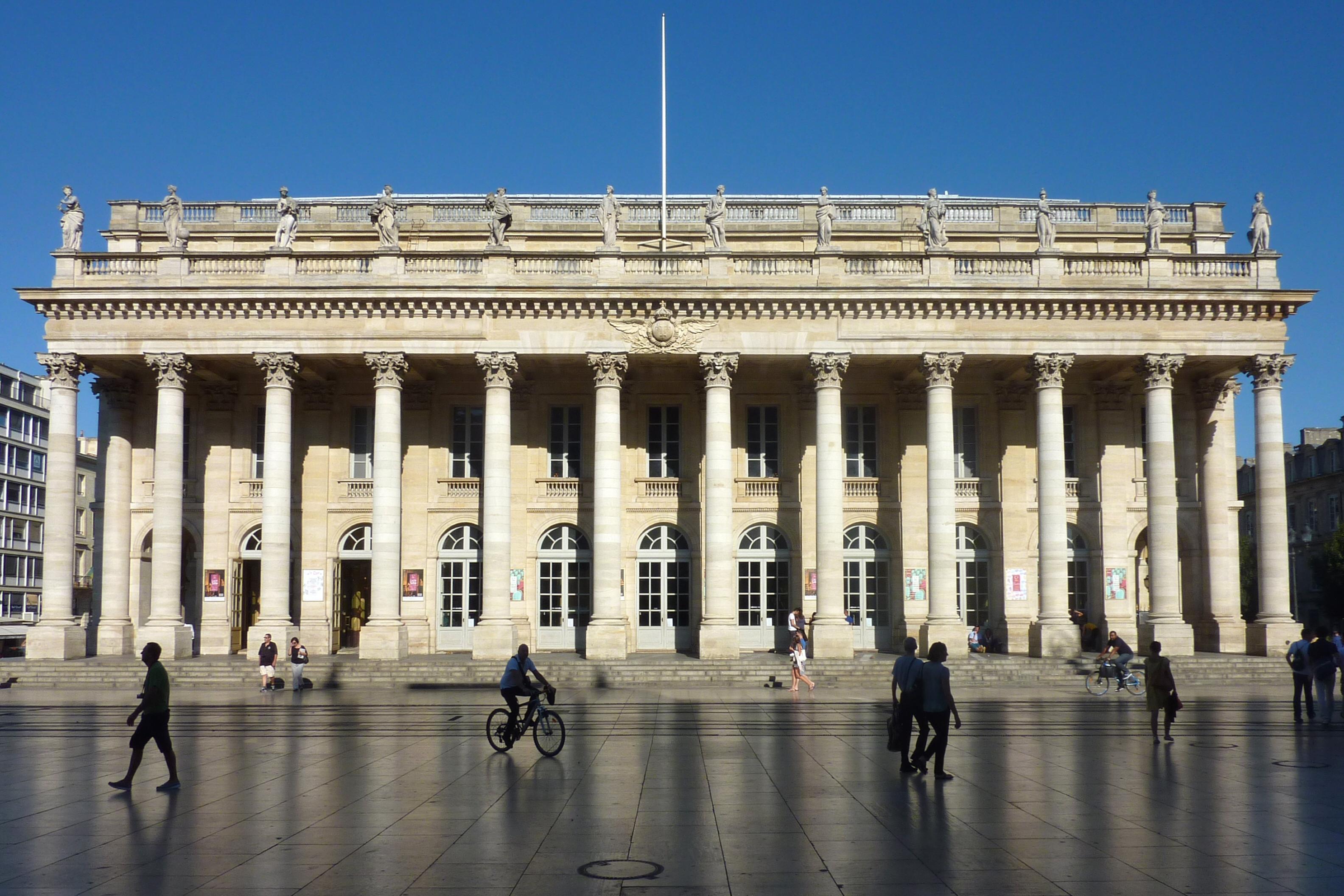 Gran Teatro de Burdeos - Wikipedia, la enciclopedia libre