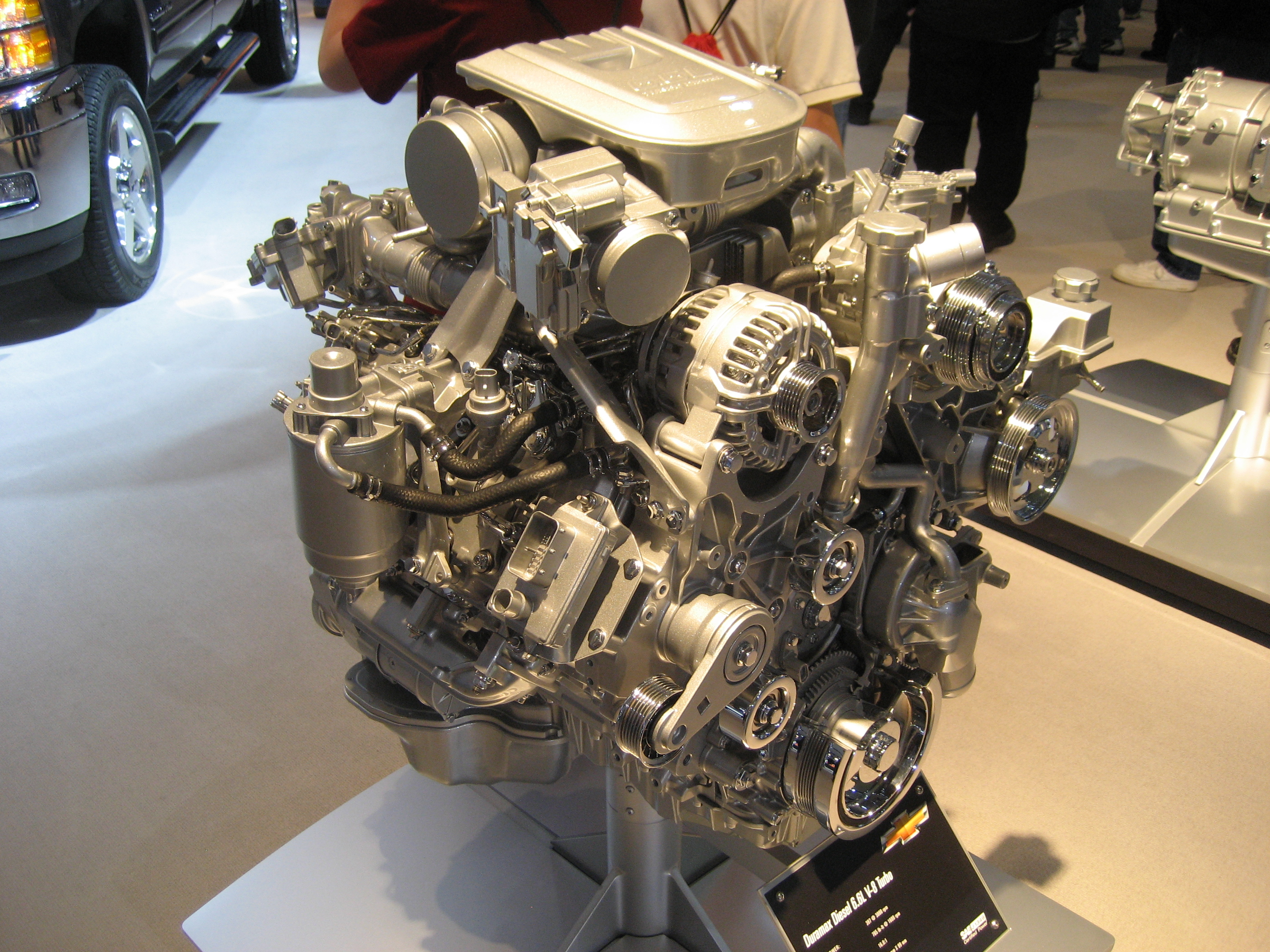 Duramax V8 Engine