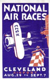 English: 1931 National Air Race poster