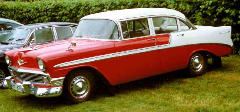 File 1956 chevrolet 2403 bel air 4 door sedan for 1956 chevy 4 door sedan