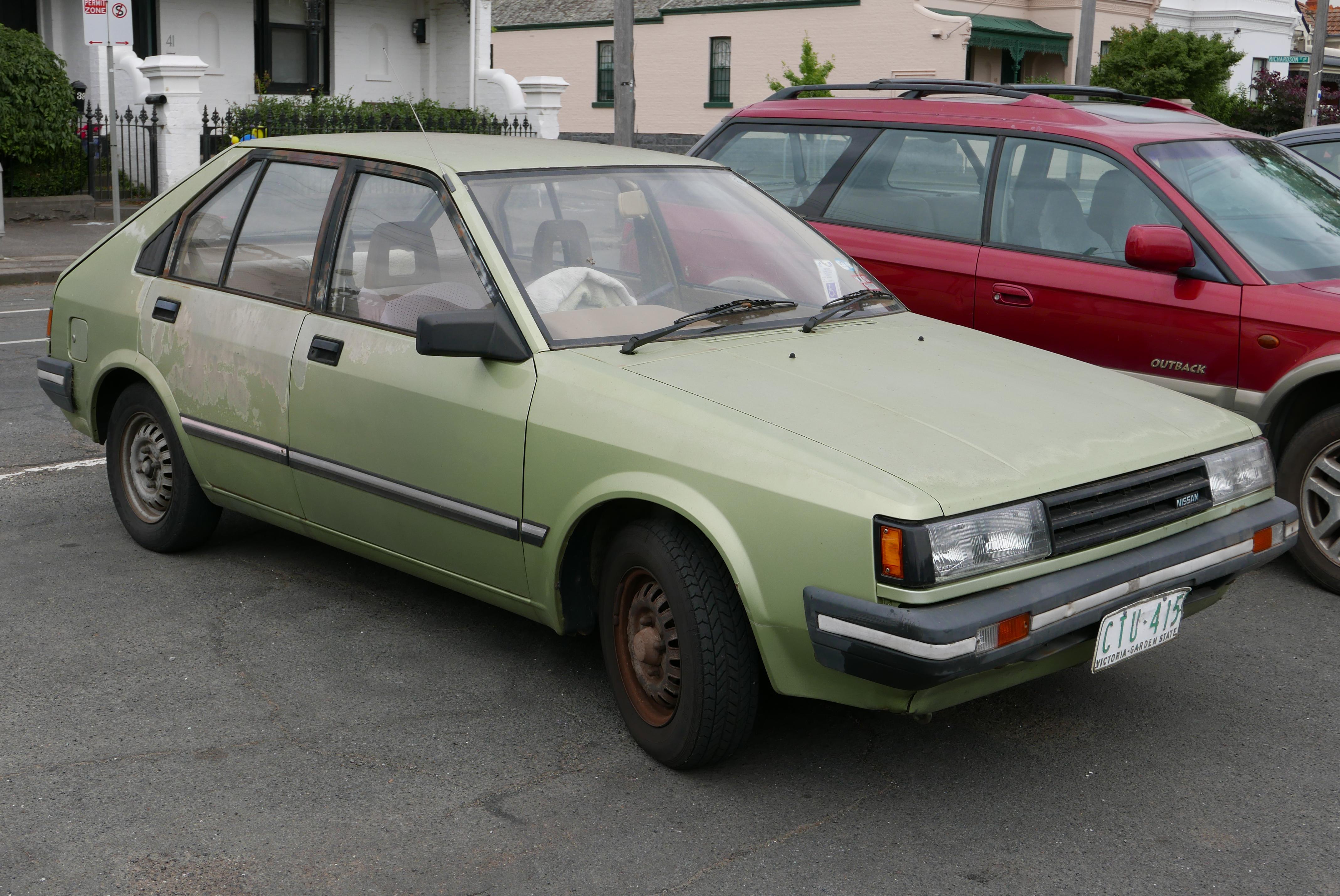 File:1986 Nissan Pulsar (N12 S3) GL 5-door hatchback (2015-12-07) 01