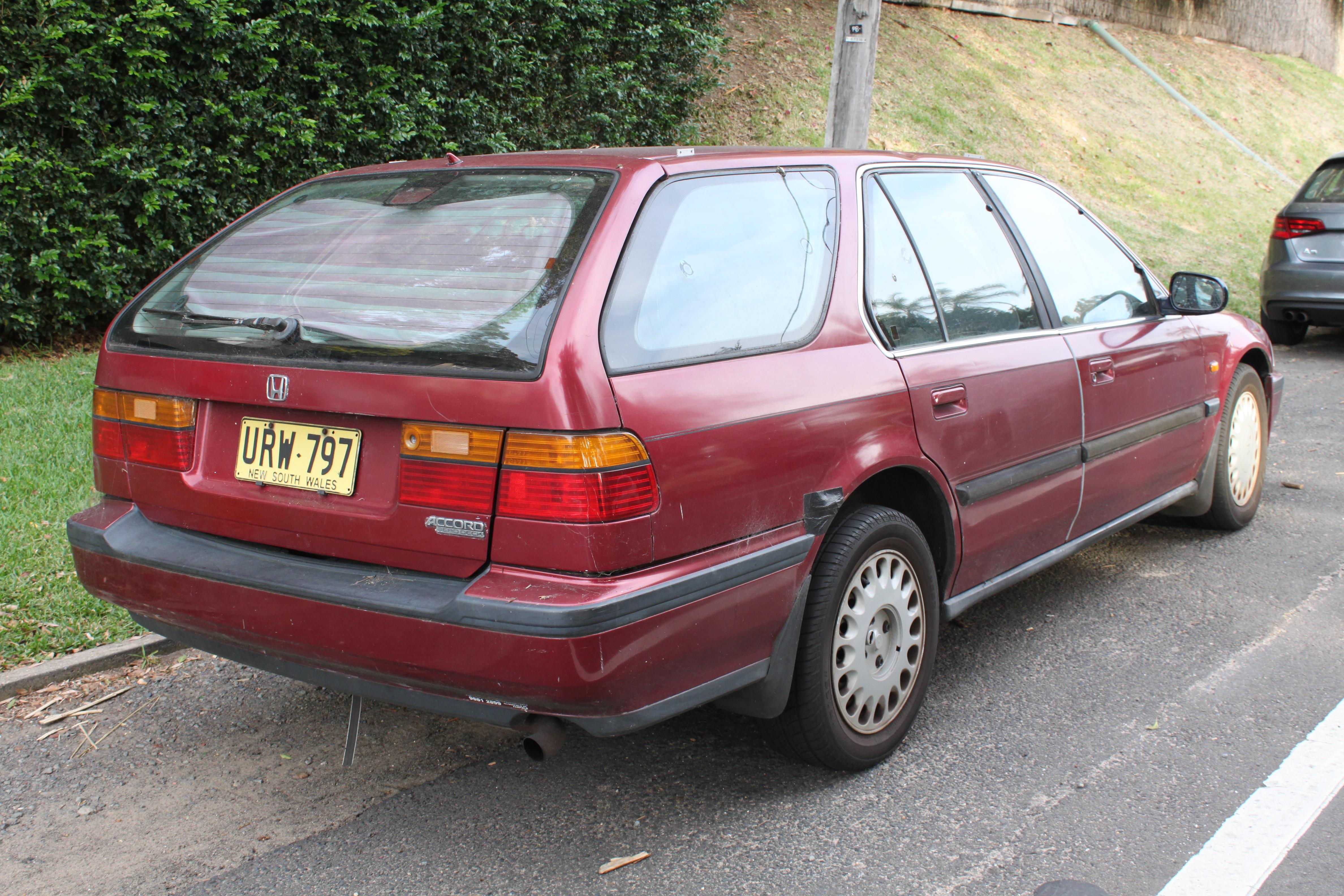 1992 honda accord station wagon the wagon