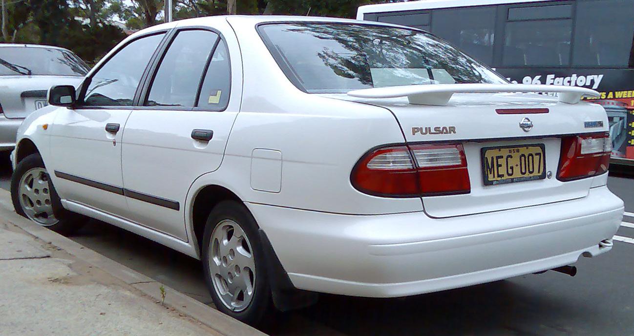 Nissan pulsar lx