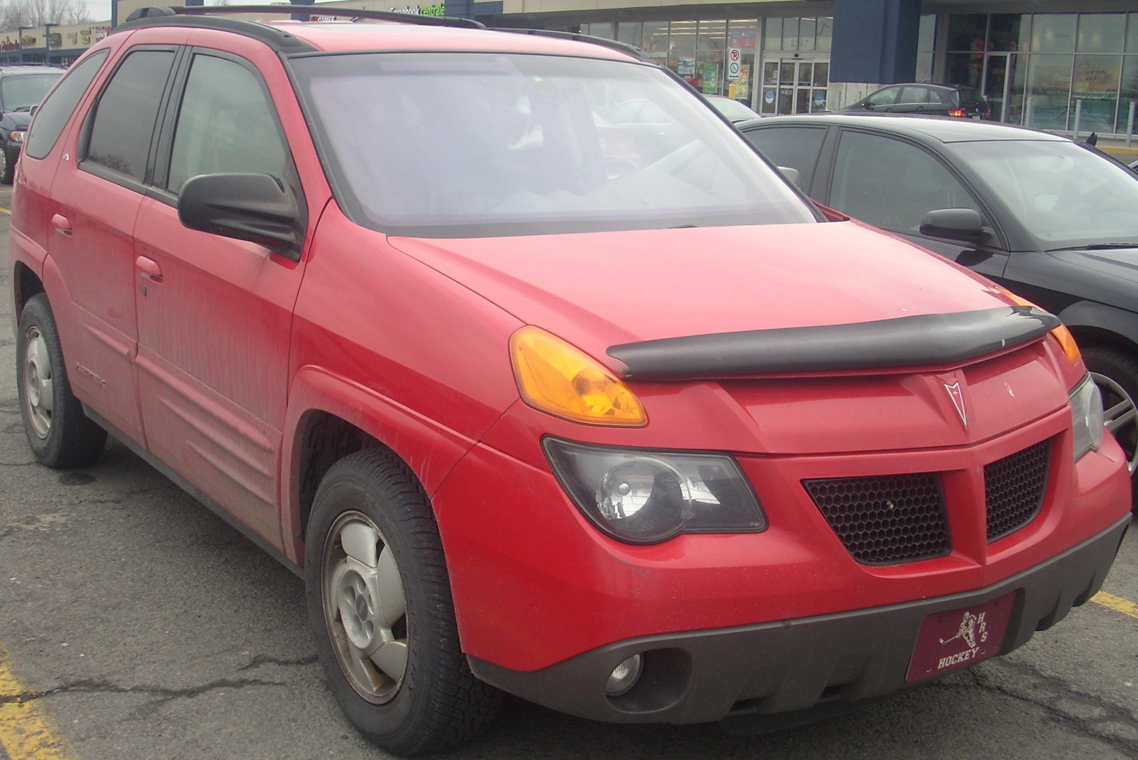 File:2001 Pontiac Aztek - red.jpg