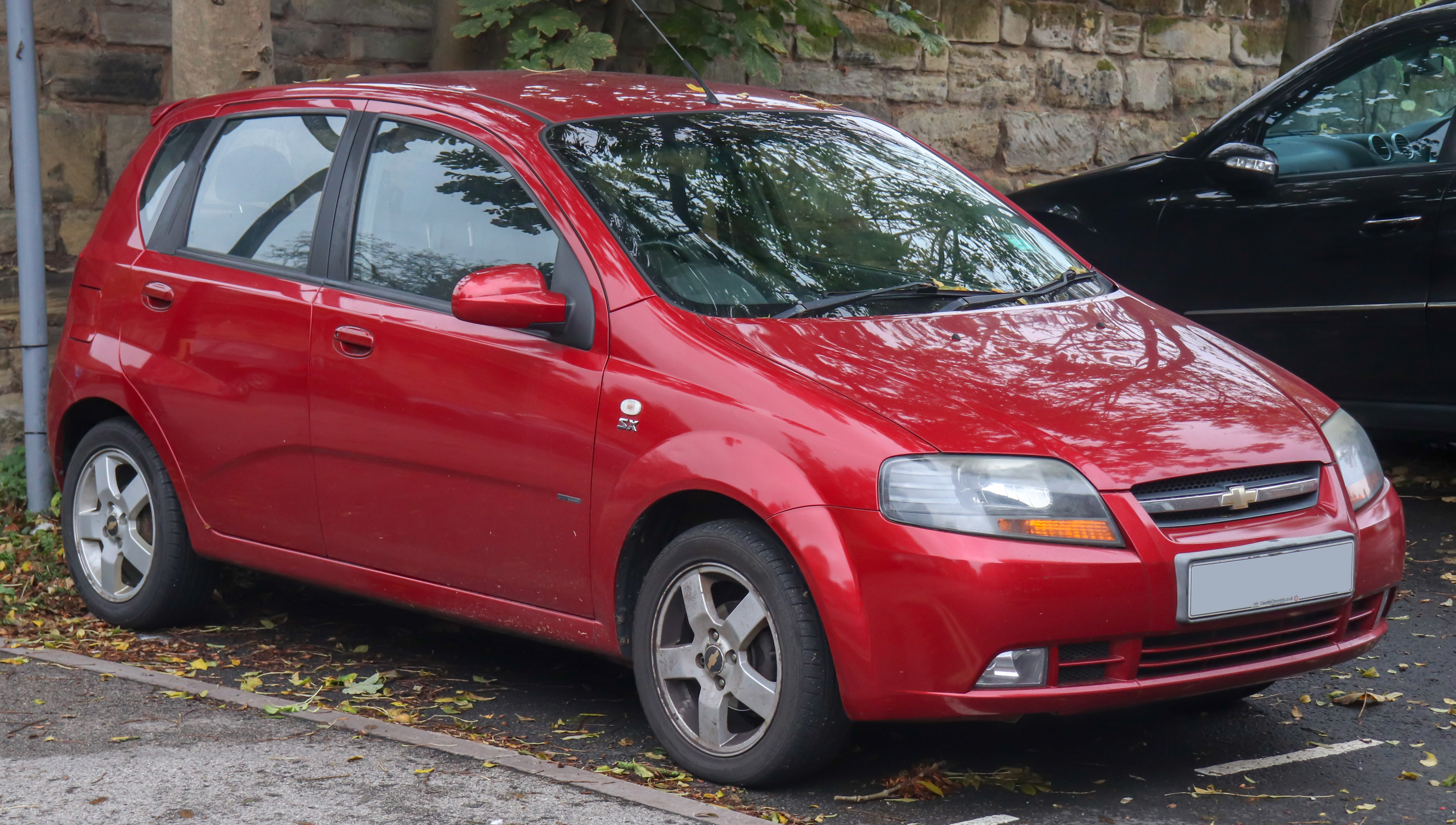 File 2008 Chevrolet Kalos Sx 1 4 1 Jpg Wikimedia Commons