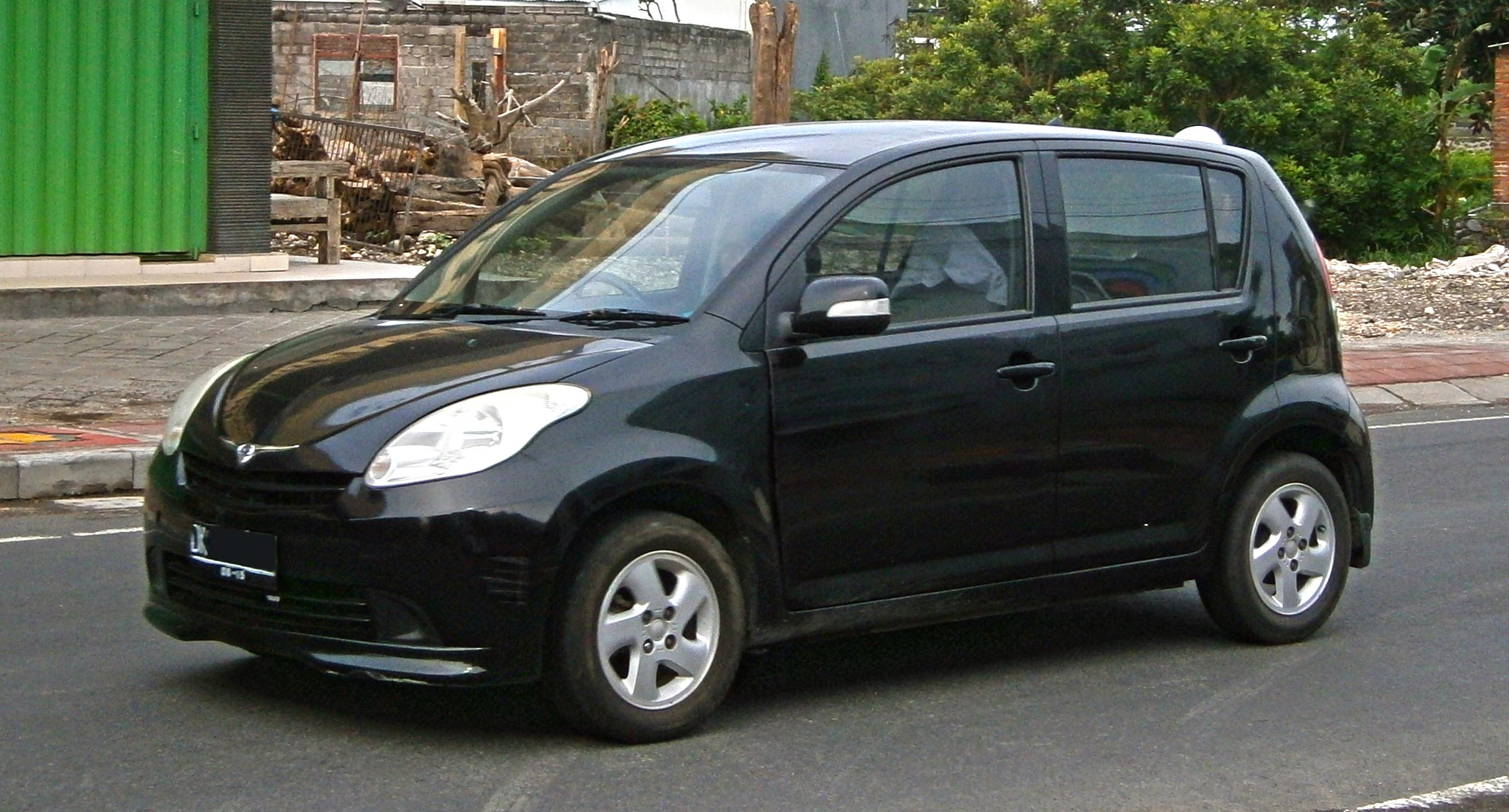 2010 Daihatsu Sirion Partsopen