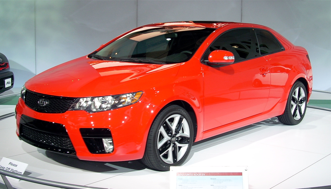 Description 2010 kia forte koup - 2009 ny int. auto show
