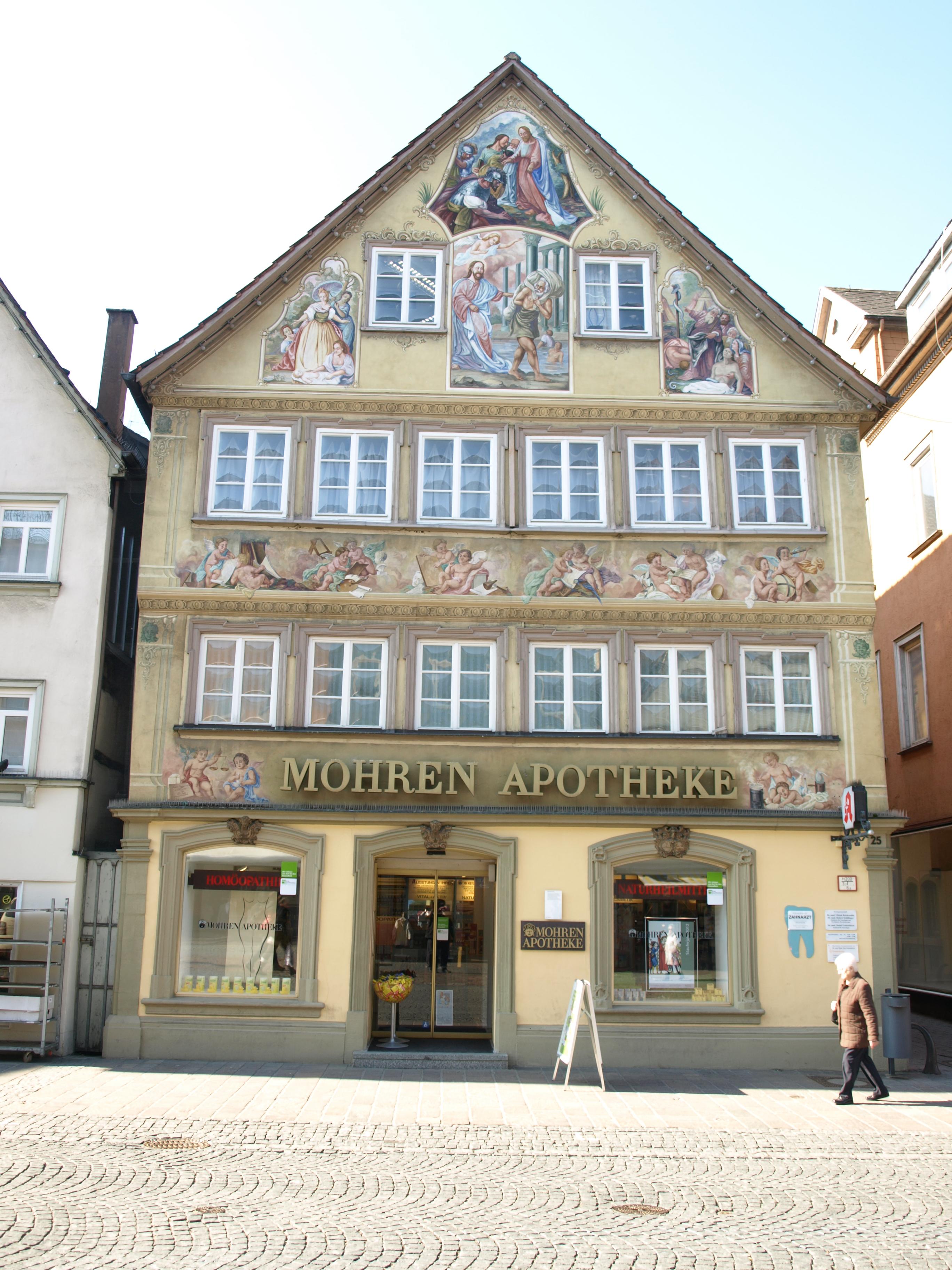 2012.03.06 - Schwäbisch Gmünd - Marktplatz 25 Mohrenapotheke - 01.jpg