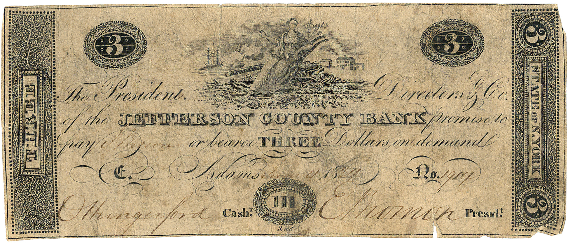 file 3 dollar bill jefferson county bank jpg wikipedia
