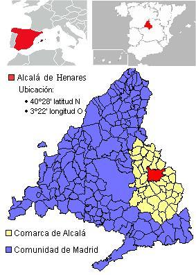 Alcala de Henares Mapa 2