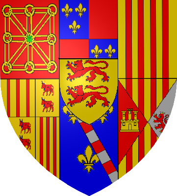File Armoiries Navarre Albret Png Wikimedia Commons