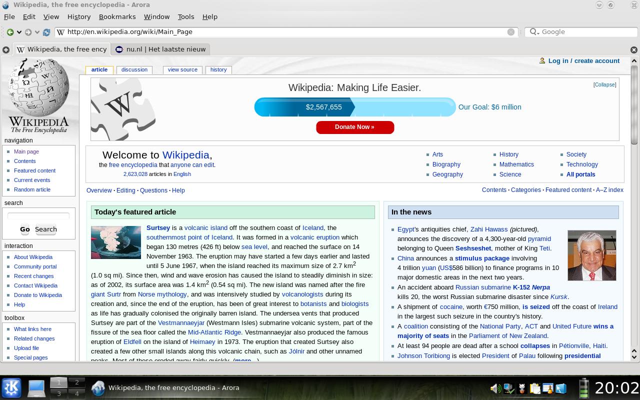 Arora (web browser) - Wikipedia