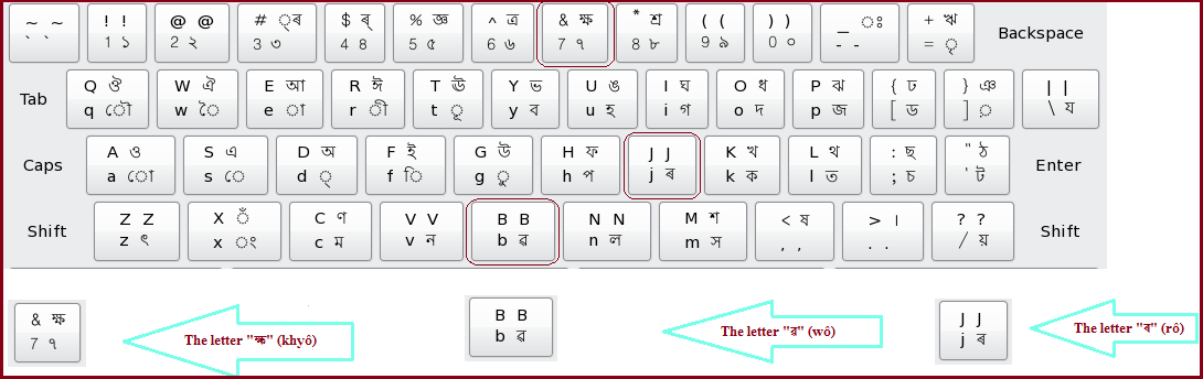 Assamese Keyboard layout (three unique alphabet identifiers).png