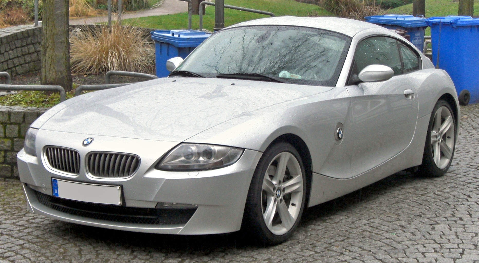 File Bmw Z4 Coup 233 Front Jpg Wikimedia Commons