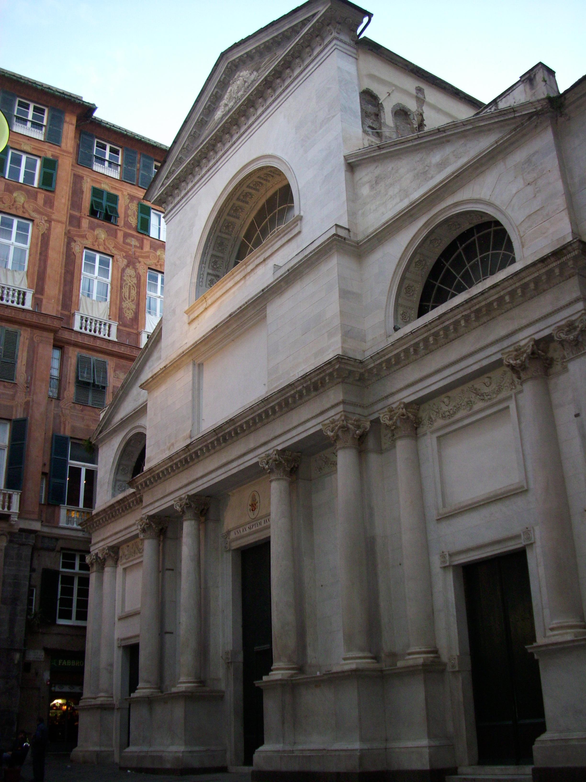Basilica di Santa Maria delle Vigne Wikipedia