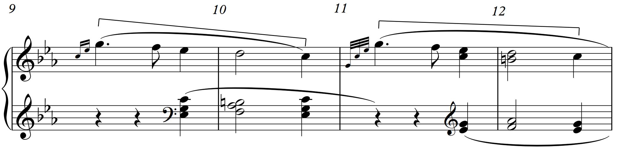 Beethoven Sonata 5 bar 9-12.png