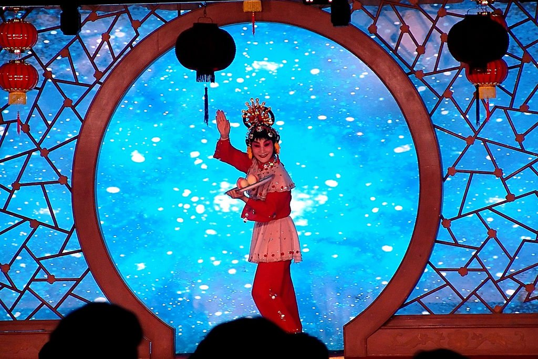 A performer of the Bejing Opera
