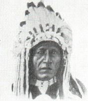English: Blackfoot American Indian