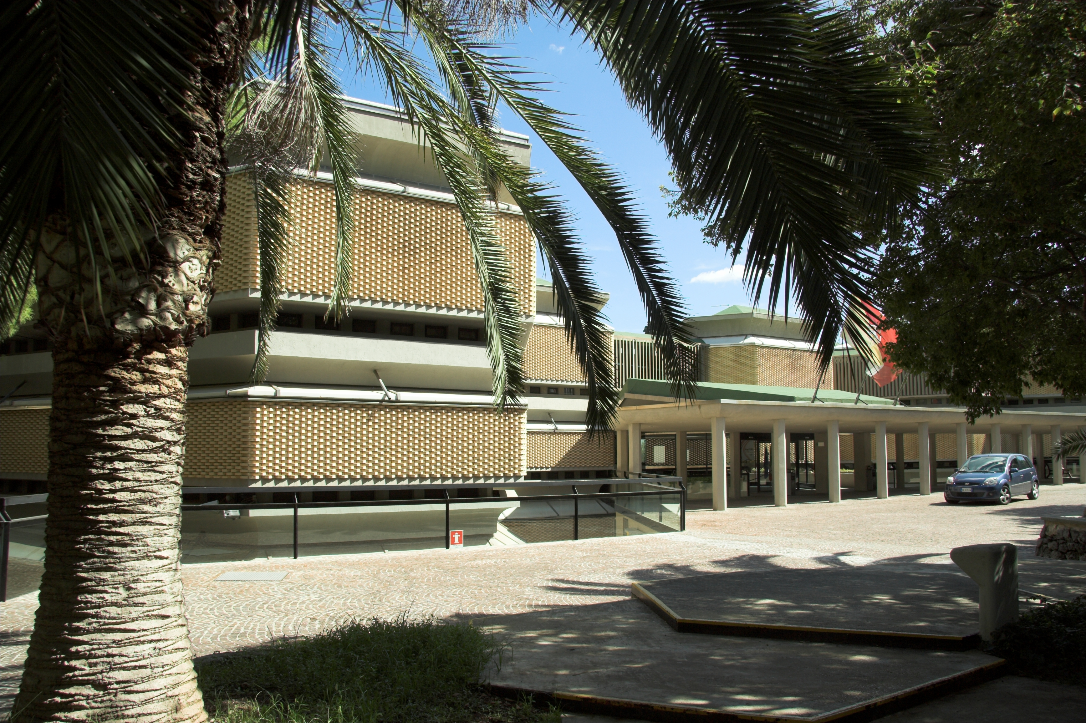 Building of Archeological Museum Syrakuse