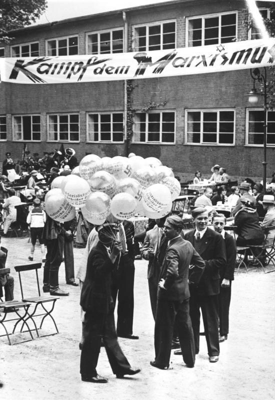 Berlin, Reichstagswahl, Wahlkampf, NSDAP, 1932