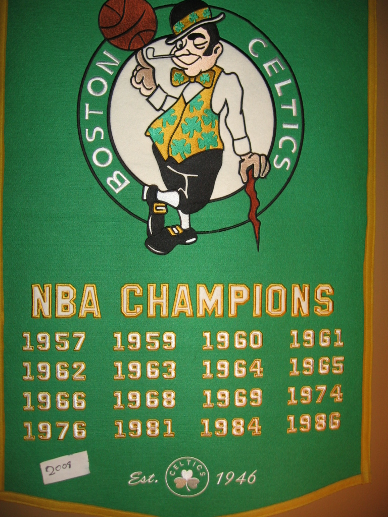 Banner Boston Celtics