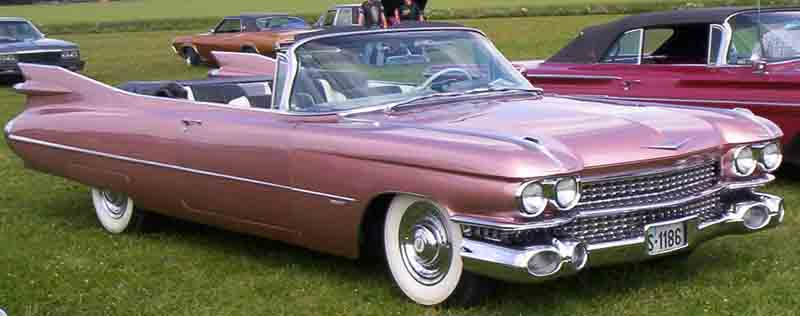 Classic Cadillacs For Sale >> File:Cadillac Convertible 1959 2.jpg - Wikimedia Commons