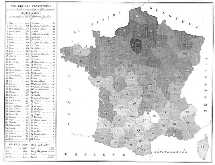carte des ville de france File:Carte de France de l'origine des prostituées à Paris.