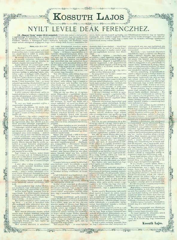 Cassandra letter of Lajos Kossuth.jpg