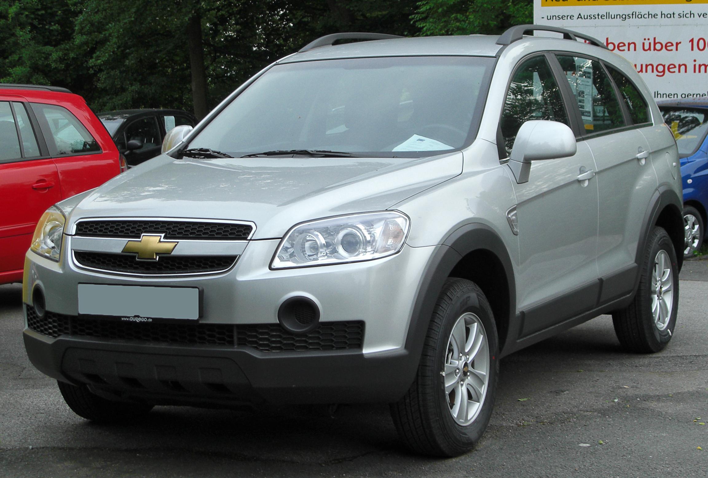File Chevrolet Captiva Ls Front 20100601 Jpg Wikimedia