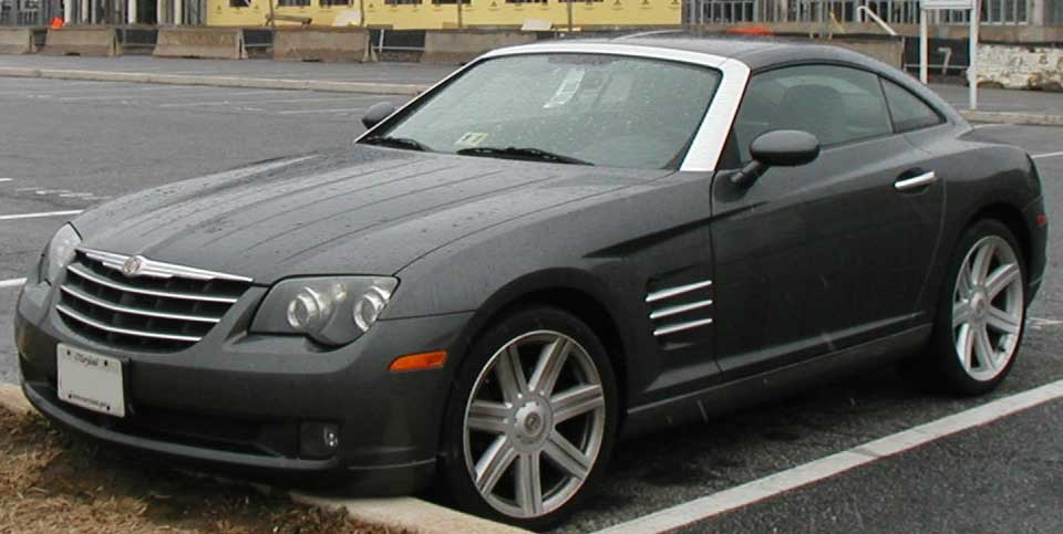File Chrysler Crossfire Jpg Wikimedia Commons