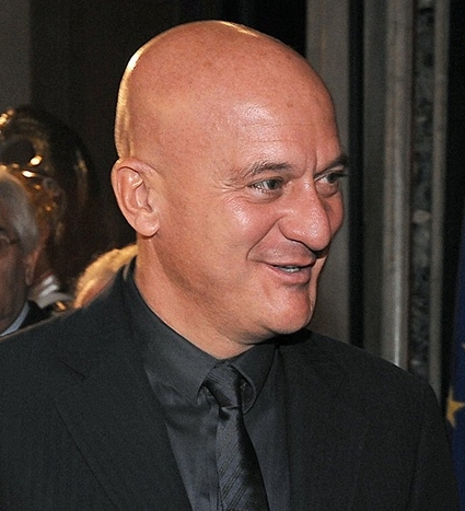 Claudio Bisio al Palazzo del Quirinale, 2009