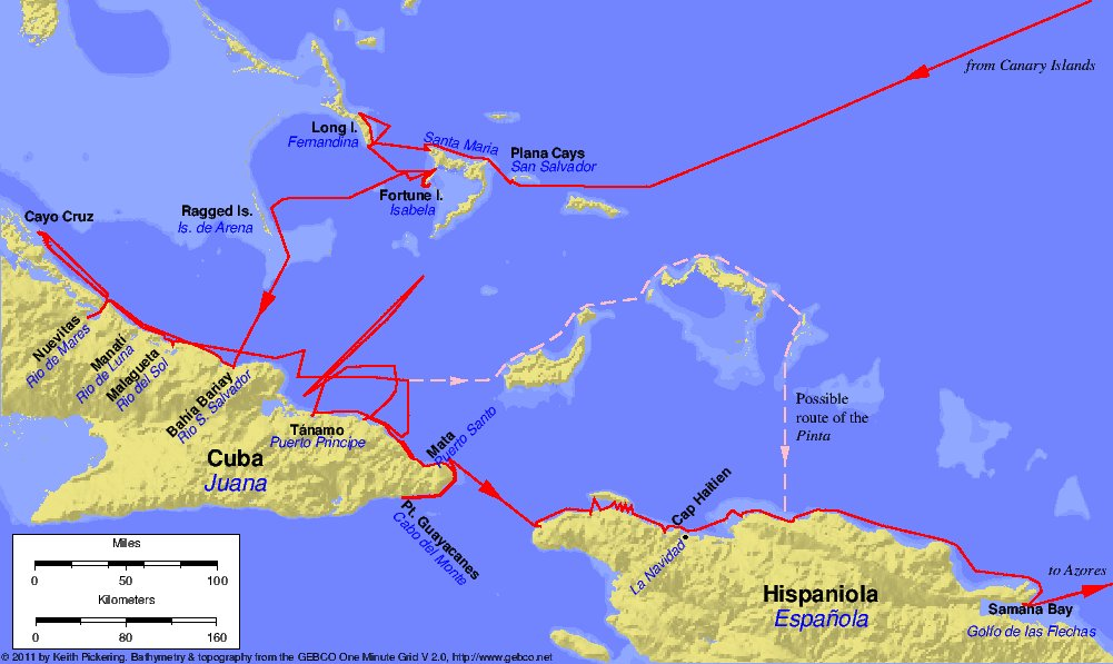 What was the significance of Columbus's voyage? Provide supporting evidence.?