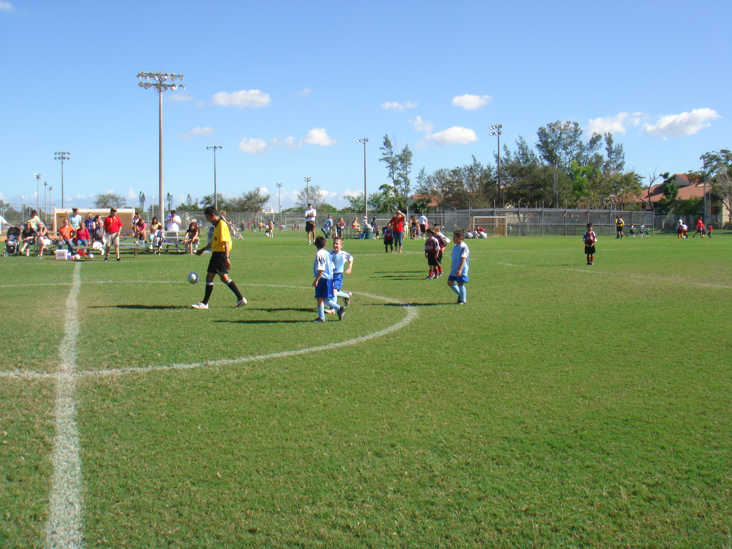 File Coral Springs Youth Soccer League Game Cypress Park
