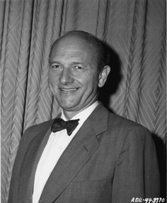 David E. Lilienthal, who chaired the AEC from its creation until 1950
